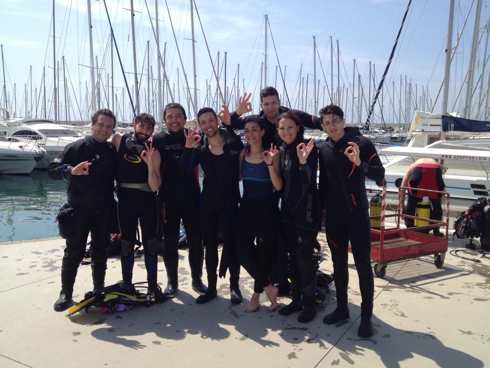 Corsi Sub Roma Open Water Diver